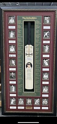 AU7995 • Buy Full Size Invincibles Signed Bradman And Team  Signatures With A COA!**