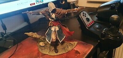 Assassins Creed Black Flag Edward Kenway The Assassin Pirate Figure Statue • 45£
