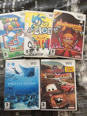 Pk Of 5 Kids Wii Games  • 12£