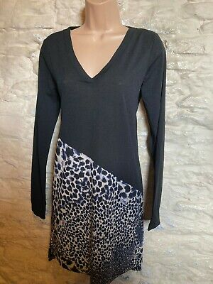 Next Longline Animal Print Tunic Top  Size 10 • 0.99£