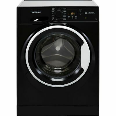 View Details Hotpoint NSWM742UBSUKN A+++ Rated 7Kg 1400 RPM Washing Machine Black New • 299.00£
