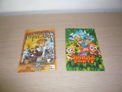 Escape From Monkey Island Buzz Junior Jungle Party Instructions Only Playstation • 3£
