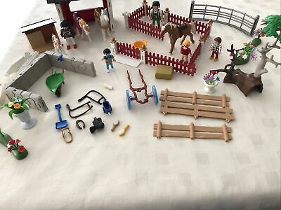 Playmobil Equestrian/ Horse Stable Bundle • 24£