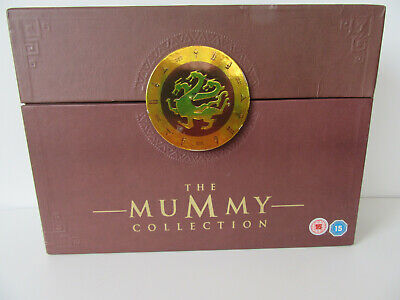 The Mummy Ultimate Collection Box Set 6 X DVDs, Book And Game 2008 • 6.99£