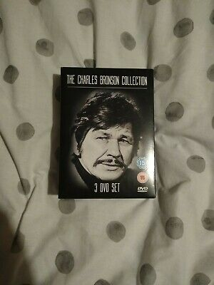 The Charles Bronson Collection 3 DVD Box Set 2007 • 8£