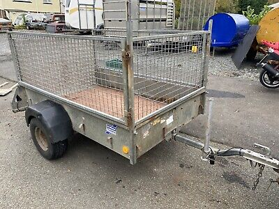 Ifor Williams P6e Single Axle Trailer With Mesh Sides 750kg • 795£