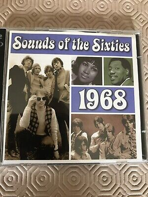 Sounds Of The Sixties - 1968 Cd X2 Double Time Life 36 Tracks • 5£