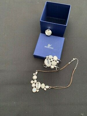 Gorgeous Unique Swarovski 3 Piece Jewellery Set! Diamonds & Pearls • 18£