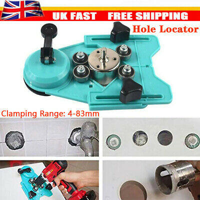 Diamond Holesaw Set Locator Holes Saw Drill Bit Cutter Tile Glass Marble Ceramic • 12.58£