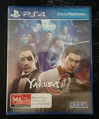 AU15 • Buy Yakuza 0 Zero - PS4 - Brand New / Sealed