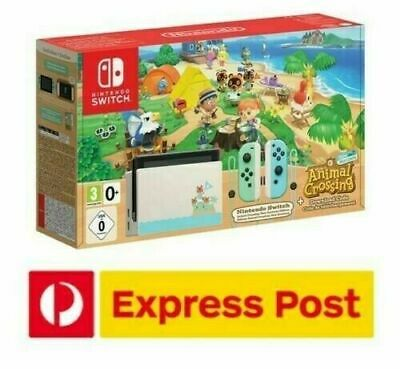 AU538 • Buy Nintendo Switch Console Animal Crossing Special Limited Edition BRAND NEW SEALED