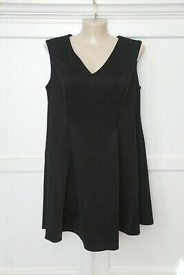 AU10 • Buy ASOS Curve Black Scuba Dress Size 20
