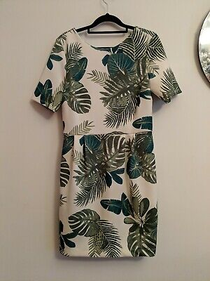 AU10 • Buy ASOS Palm Wiggle Dress Size 12