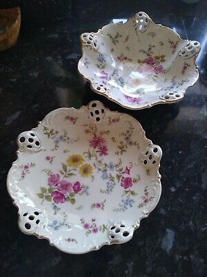 Effenbein Rosenthal Florida Bowl (19) And Plate (44) • 9.99£