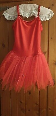 Red Tutu Adult Size 8/10 • 3.50£