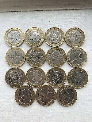 Rare 2 Pound Coin Job Lot In Good Condition • 40£