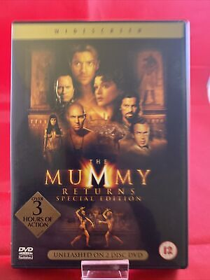 The Mummy Returns DVD 2 Disc Special Edition ( Dvd 3 ) • 2.35£