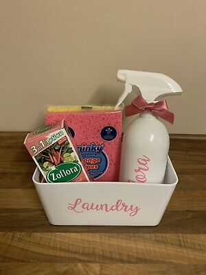 Zoflora Mrs Hinch Gift Set With 500ml White Spray Bottle & Laundry Tidy Box • 12£