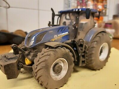 Rare Britains Conversion  New Holland Ford Nh T7.315 Weathered Tractor • 40£