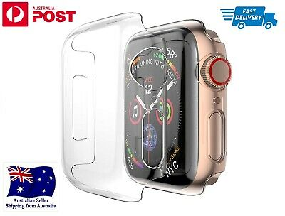 AU10.98 • Buy Apple Watch 1/2/3/4/5/6/SE Hard Protection Bumper Case Cover IWatch 38/42/40/44m