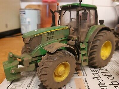 Rare Britains Conversion Weathered John Deere 6195 Tractor • 40£