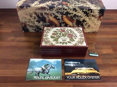 $ CDN331.48 • Buy Rolex Date-Just 69178 Watch Box Set Vintage + Booklets + Tag + FREE SHIPPING