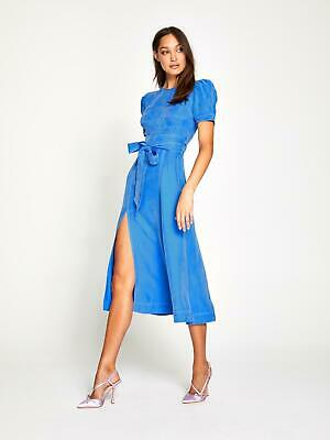 AU250 • Buy Bnwt Alice Mccall Cerulean Eyes On You Midi Dress - Size 4 Au/0 Us (rrp $395)