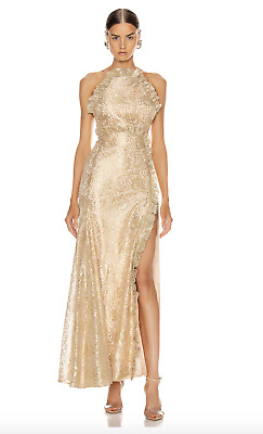 AU120 • Buy Bnwt Alice Mccall Linen Realms Gown - Size 4 Au/0 Us (rrp $595)