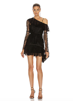 AU150 • Buy Bnwt Alice Mccall Black Shadow Love Mini Dress - Size 8 Au/4 Us (rrp $425)