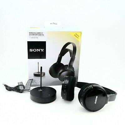 Sony MDRRF811RK Wireless Headphones - Black • 37.50£