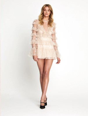 AU250 • Buy Bnwt Alice Mccall Ballet Foiled Zen Dress - Size 8 Au/4 Us (rrp $450)