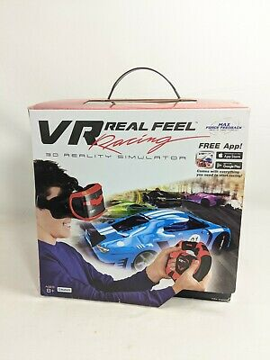 VR Real Feel Virtual Reality Car Racing 3D Reality Simulator With Bluetooth  Ws2 • 12.22£