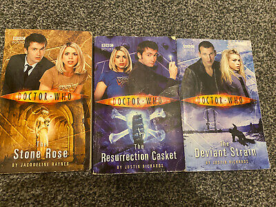3 X Paperback Doctor Who Books • 1.40£