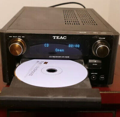 TEAC Series CR-H248 CD Receiver DAB/FM With RDS Tuner MP3 Player • 29.99£