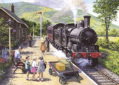 Gibsons All Aboard To Keswick 1000 Piece Jigsaw Puzzle • 38.05£