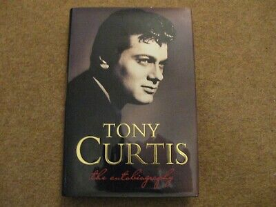 Tony Curtis The Autobiography Signed Edition • 20£