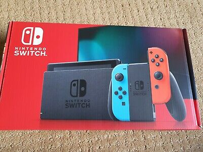AU370 • Buy Nintendo Switch Neon Blue And Red Joy‑con