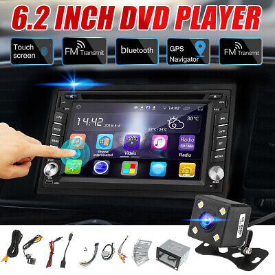 AU171.55 • Buy Car Stereo GPS Navigation Bluetooth Radio Double 2 Din 6.2  CD DVD Player