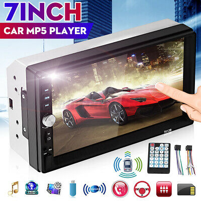 AU76.99 • Buy 7'' Double 2 DIN Car Radio Stereo MP3 MP5 Player For Android IOS GPS USB FM