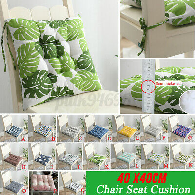 AU13.99 • Buy Seat Cushions Square Soft Chair Pad Mat Dining Garden Patio Home Office AU +