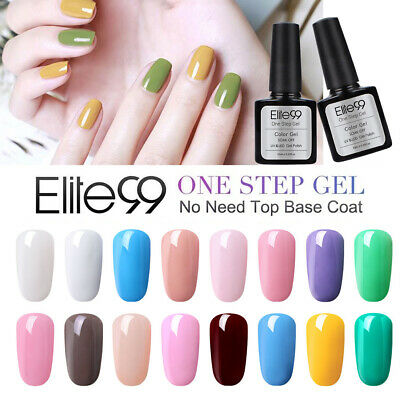 Elite99 One Step Gel Polish Varnish UV LED Soak Off Manicure Nail Art Lacuqer • 2.99£
