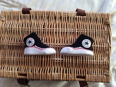Converse All Star Baby Infant Slip On Sock Booties 2 Pairs, 0-6 Months • 0.99£