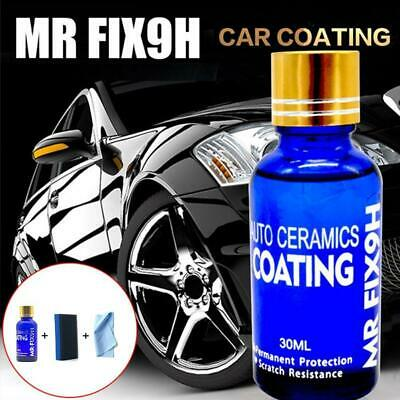 $5.53 • Buy 9H Nano Ceramic Car Glass Coating Liquid Hydrophobic Anti-Scratch Care 60%OFF