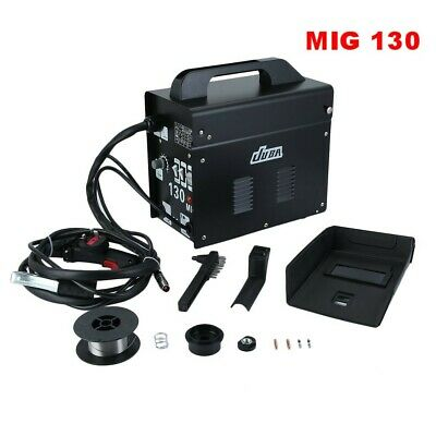 JUBA Portable Gasless Welder Welding Machine With Kit Mask Arc MIG 230V Black KR • 85.06£