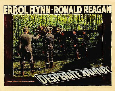 Desperate Journey. War 1942 Starring Errol Flynn Dvd • 3.50£