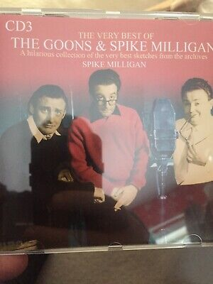 Cd3 Only The Goons & Spike Milligan • 4.99£
