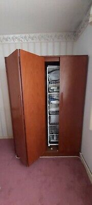 G Plan Bedroom Wardrobe, Retro/Vintage, Very Good Condition Incl Racking. • 75£