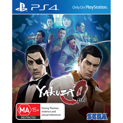 AU18 • Buy Yakuza 0 Preowned - PlayStation 4 - PREOWNED