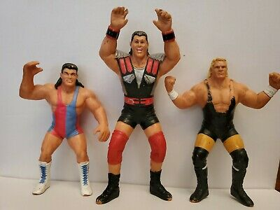 $ CDN51.73 • Buy WCW Scott Steiner Plus 2 Other Figures..Wrestling Figure RARE UK  Galoob.