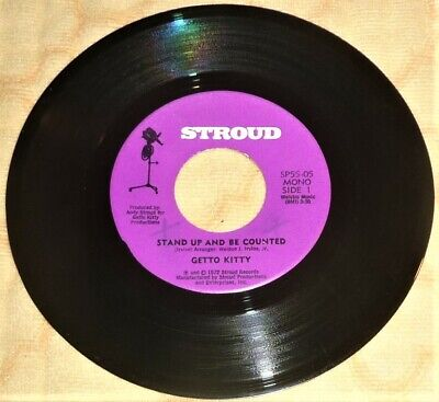 £58.19 • Buy  45 RPM 7  VINYL RECORD By GETTO KITTY / STROUD SP-55-05 (1972) MONO / FUNK-SOUL